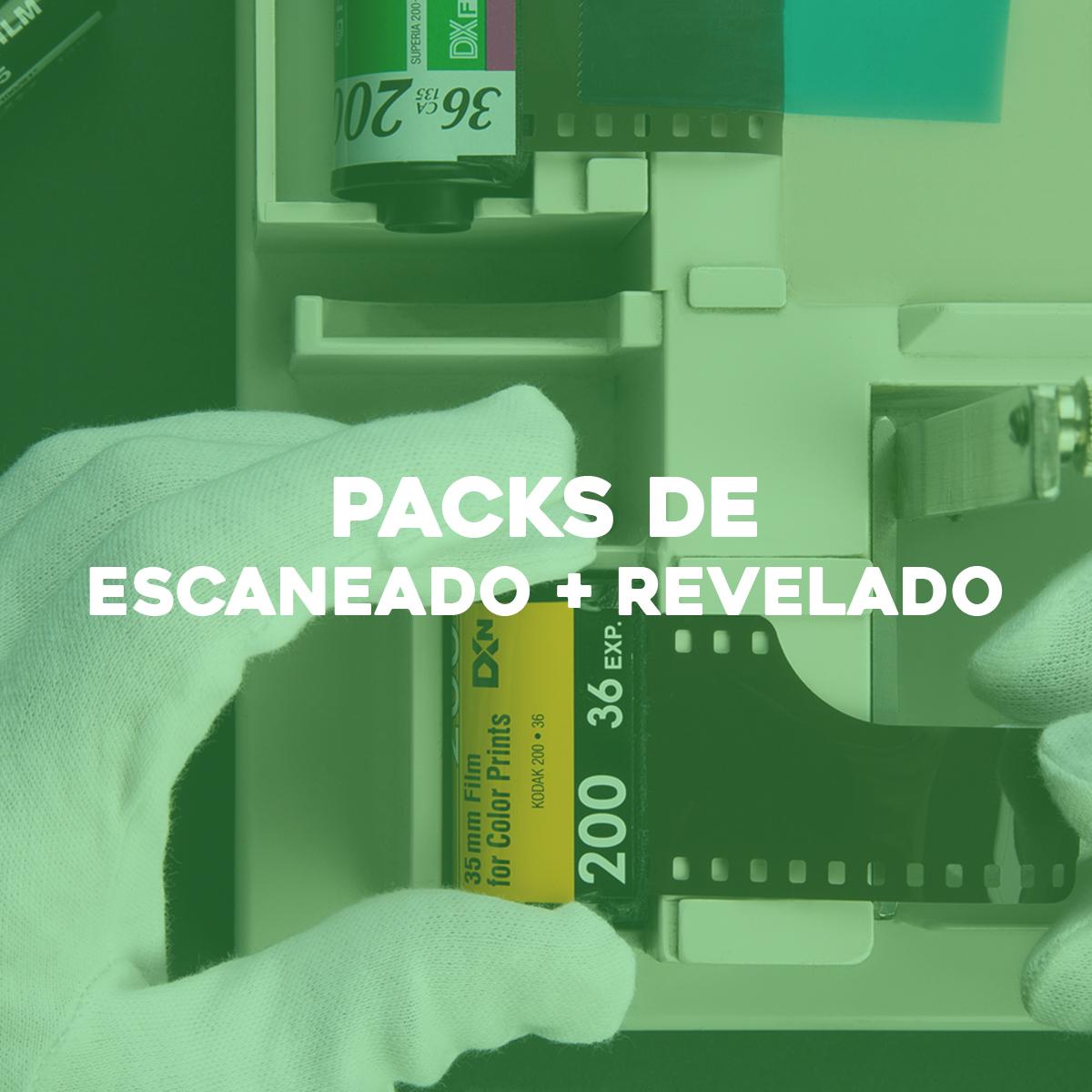 Scanning & developing packs